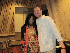 VV Brown at Sound Pure Studios