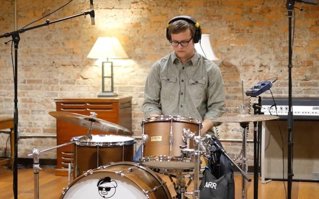 A Simple 4-Mic Drum Recording Setup Using Peluso Mics