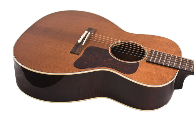 Bourgeois L-DBO/N #7391 with Aged Tone Curly Maple Back