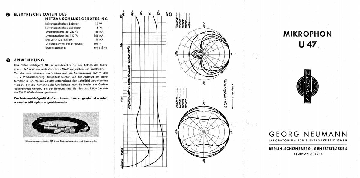Finding That Neumann U 47 Sound - Sound Pure