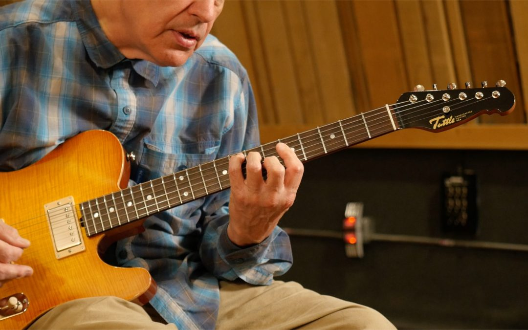 Eddie's Corner: How To Play All Your Major Chords within Five Frets