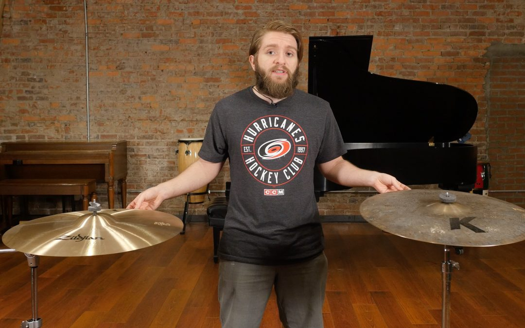 Effects of Hammering and Lathing Cymbals