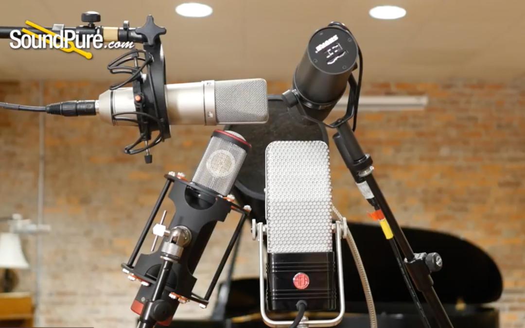 Tour of Types Vocal Microphone Shootout: Shure SM7B vs. AEA R44 CXE vs. Manley Ref C vs. Neumann U87Ai