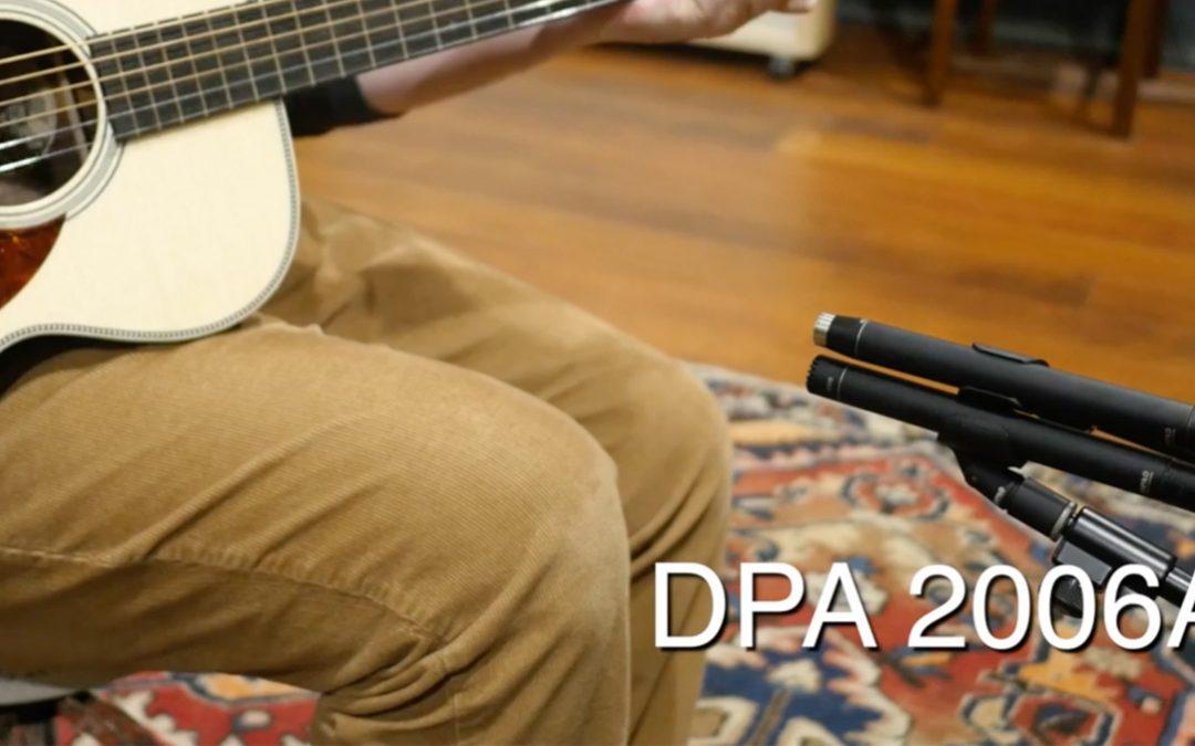 DPA 4006A vs. 2006A SDC Mic Quick 'n' Dirty Shootout