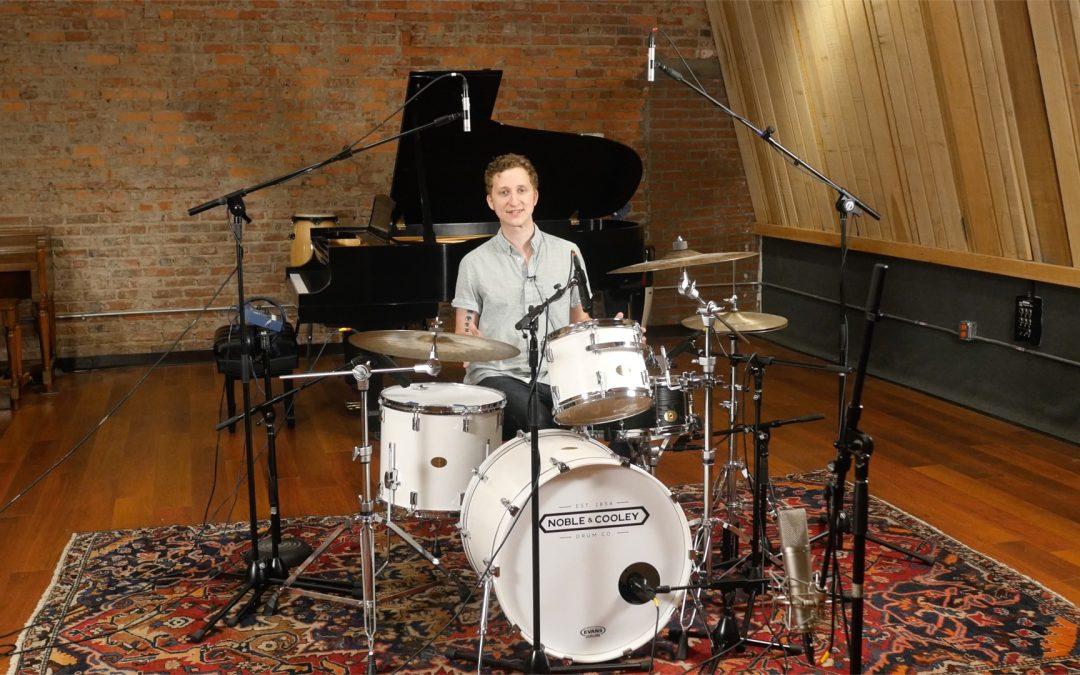 8 Microphone Drums Setup