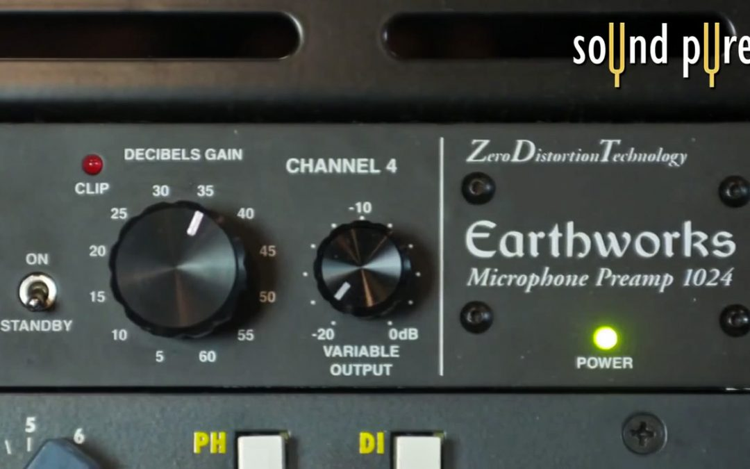 A No-Distortion Microphone Preamp: the Earthworks 1024
