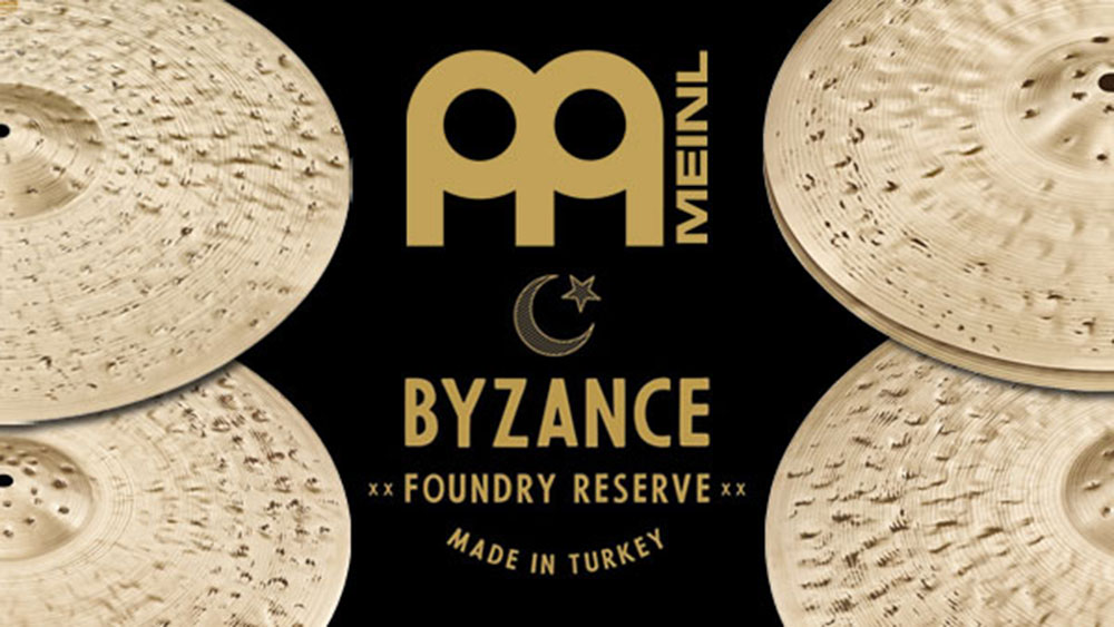 Introducing Meinl's Byzance Foundry Reserve Cymbals