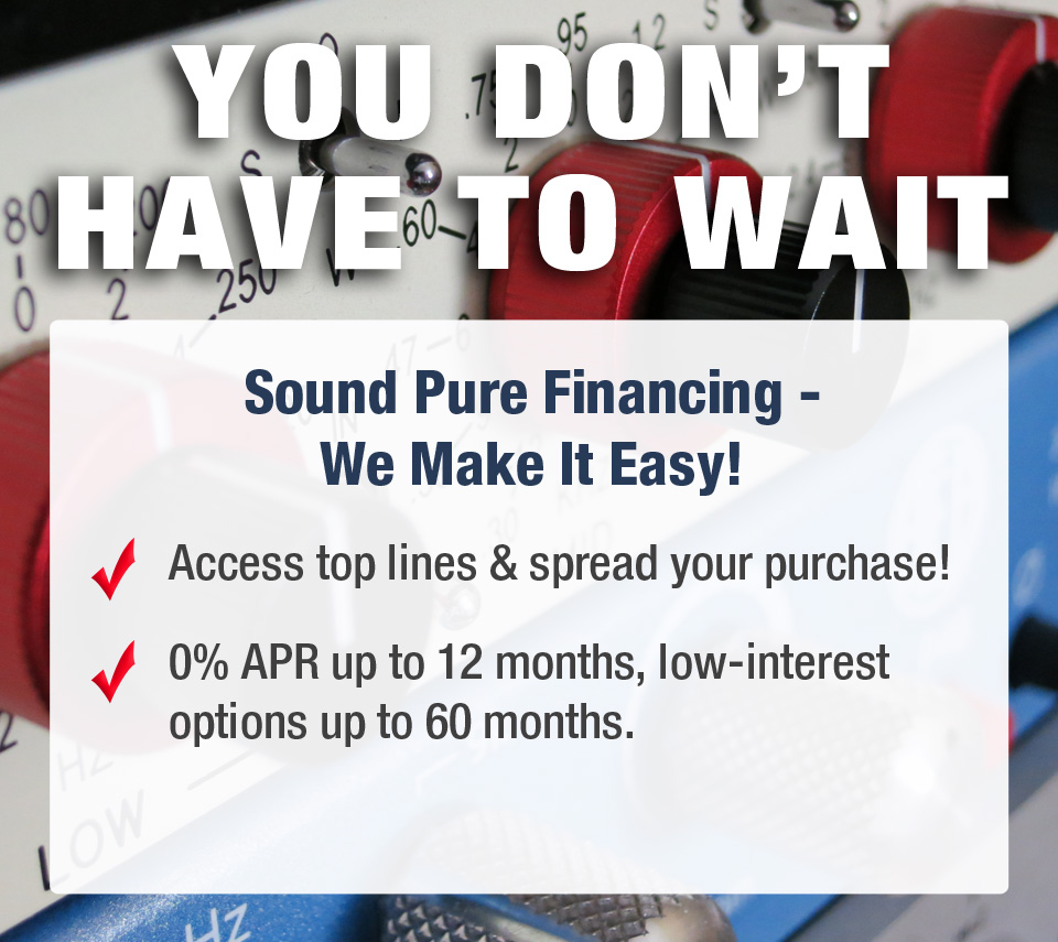 Sound Pure Financing - We Make It Easy!