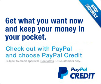Check out with PayPal and use PayPal Credit.
