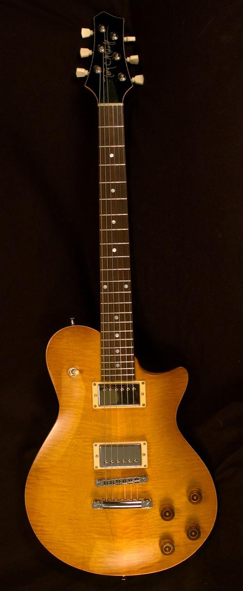 mcinturff carolina standard lemon burst electric guitar. Black Bedroom Furniture Sets. Home Design Ideas