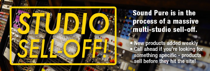 Studio Sell-Off