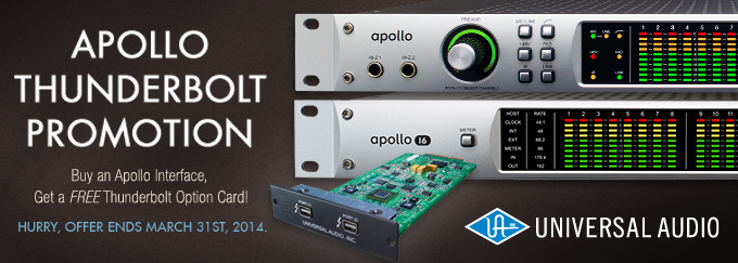 Apollo Thunderbolt Promotion