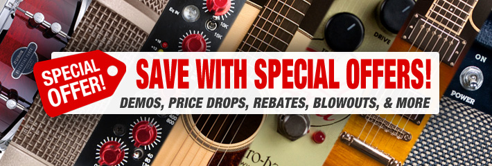 Save with Special Offers!