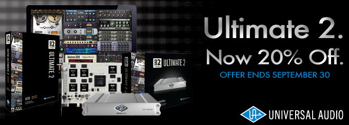 UAD-2 Ultimate 2 - 20% Off