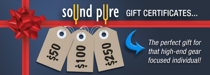 Sound Pure Gift Certificates