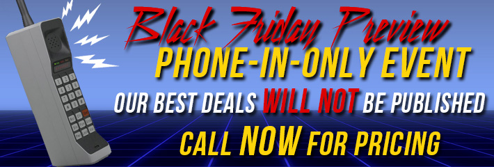Black Friday Phone-In Event