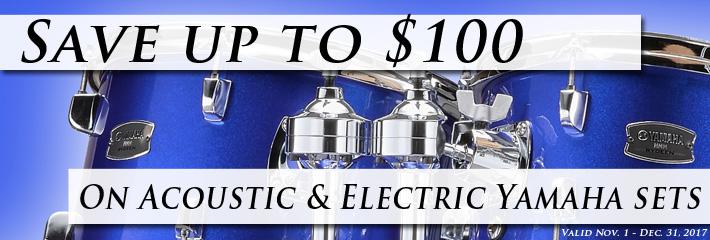 Yamaha Drums Fall Savings