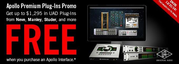 UA Apollo + Free Plug-ins!