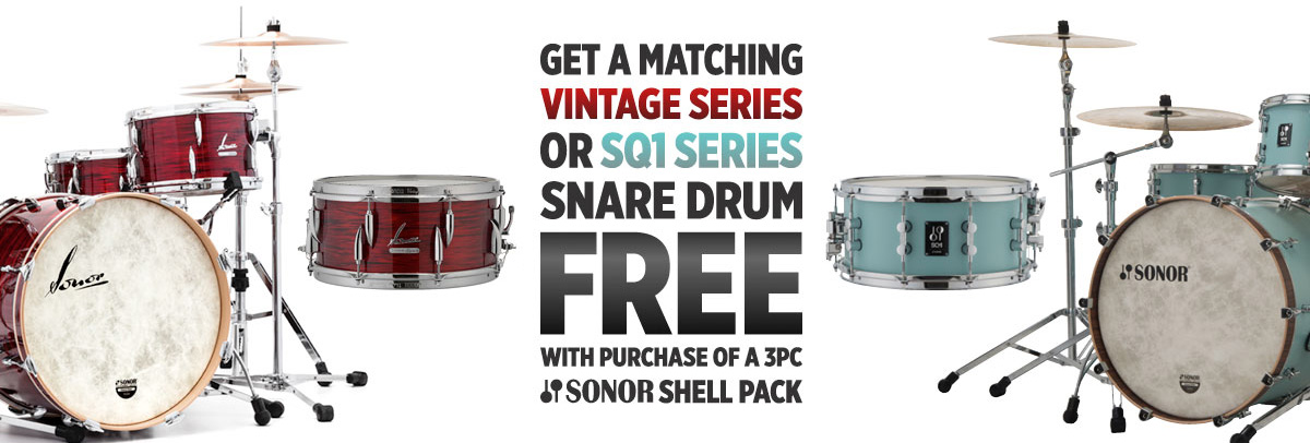 Sonor Snare Promotion