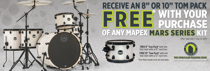 Mapex Mars Kit Offer