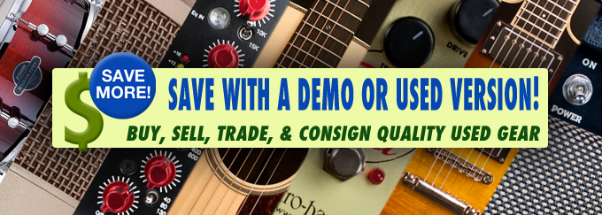 Used and Demo Deals!