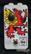 Flickinger Germanium Griffin Fuzz Boost Guitar Pedal Used