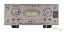 Avalon M5 Single Channel Solid State Mic Preamp Used