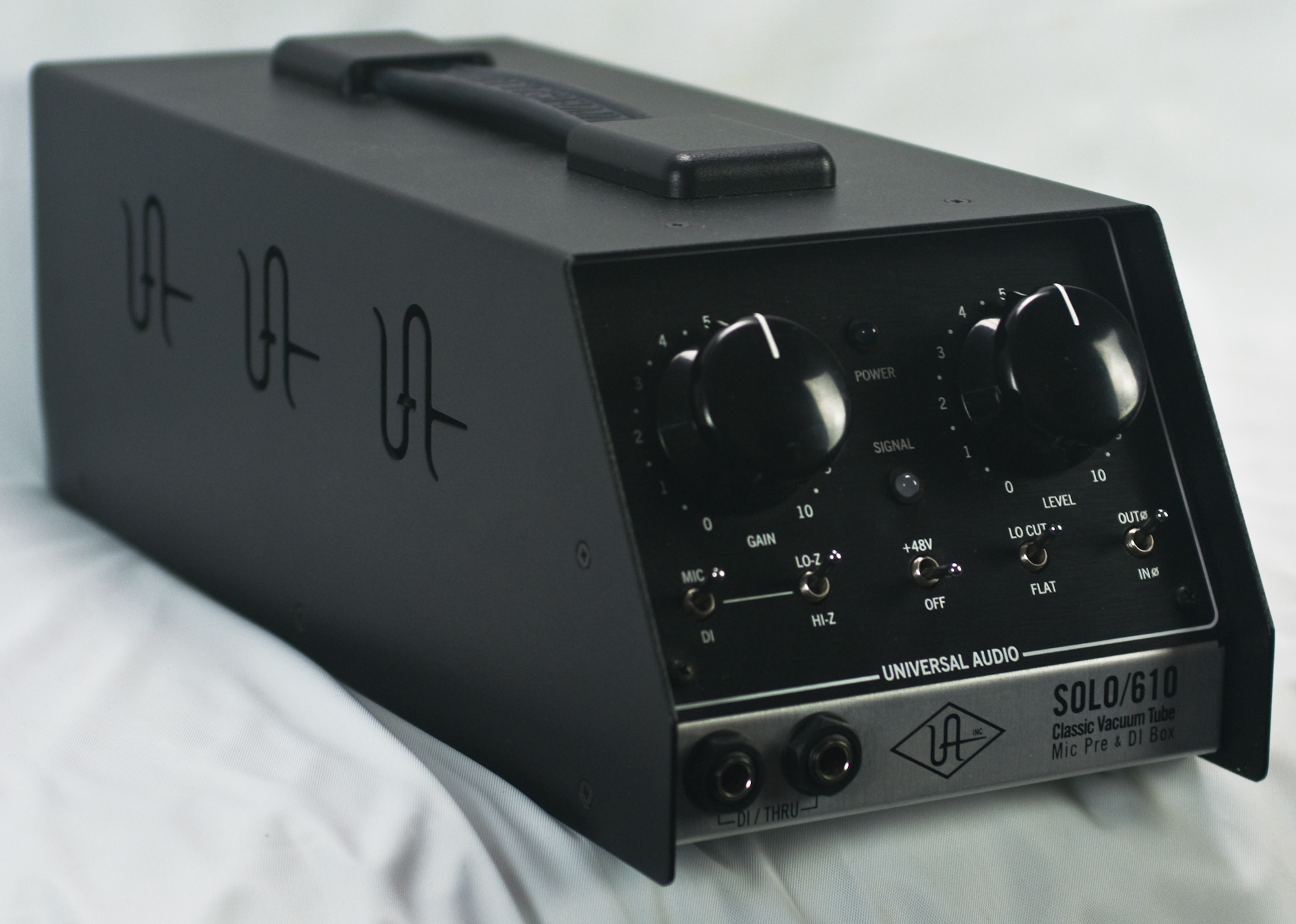 Ua Solo 610 : universal audio solo 610 tube mic pre and di box used ~ Hamham.info Haus und Dekorationen