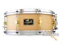 Canopus 5.5x14 The Maple Snare Drum-Die Cast Hoops