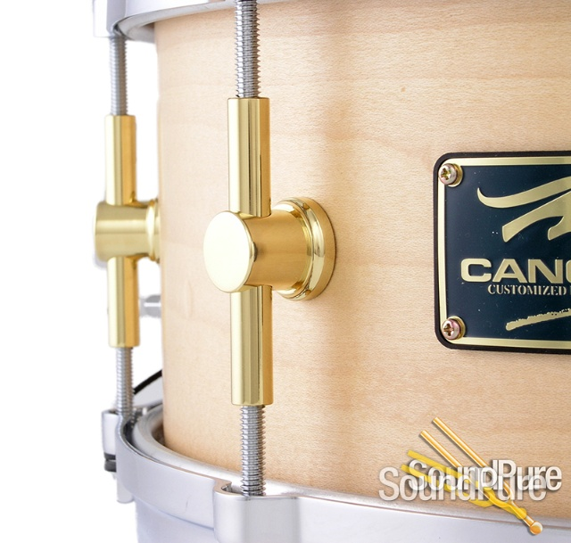 canopus the maple snare drum die cast hoops. Black Bedroom Furniture Sets. Home Design Ideas