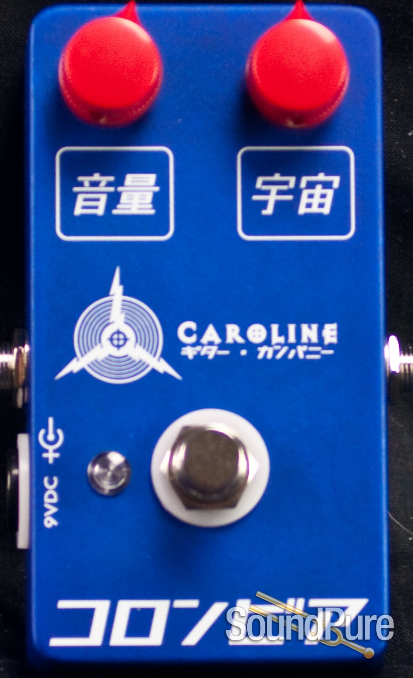 Caroline Guitar Company Olympia Fuzz Blue And Red Box Same Articulate As Before But In A Cool Japanese Inspired