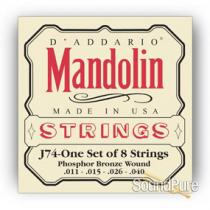 D'Addario J75 Mandolin Strings