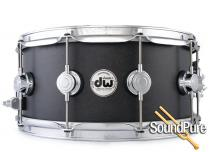 DW 6.5x14 Collectors Series Maple Snare Drum -Ebony Oil