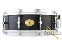 5x14 Noble & Cooley SS Classic Maple Snare Drum-Blackwash