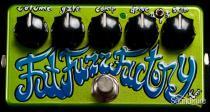 Z.VEX Effects Fat Fuzz Factory Effect Pedal - Handpainted