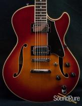 Comins GCS-1ES Violin Burst Semi-Hollow Guitar 2077