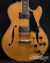 Comins GCS-1 Vintage Blond Semi-Hollow Guitar 2131