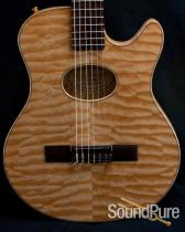 Buscarino Starlight Nylon String Acoustic Electric Guitar