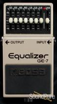 Boss GE-7 7-Band Graphic EQ Effect Pedal - Used