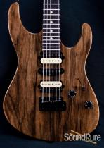 Suhr Modern Natural Gloss Black Limba Electric Guitar 25392