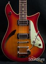 Duesenberg Double Cat Fireburst Guitar