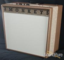 3 Monkeys Custom Sock Monkey 18/12 Combo Amp