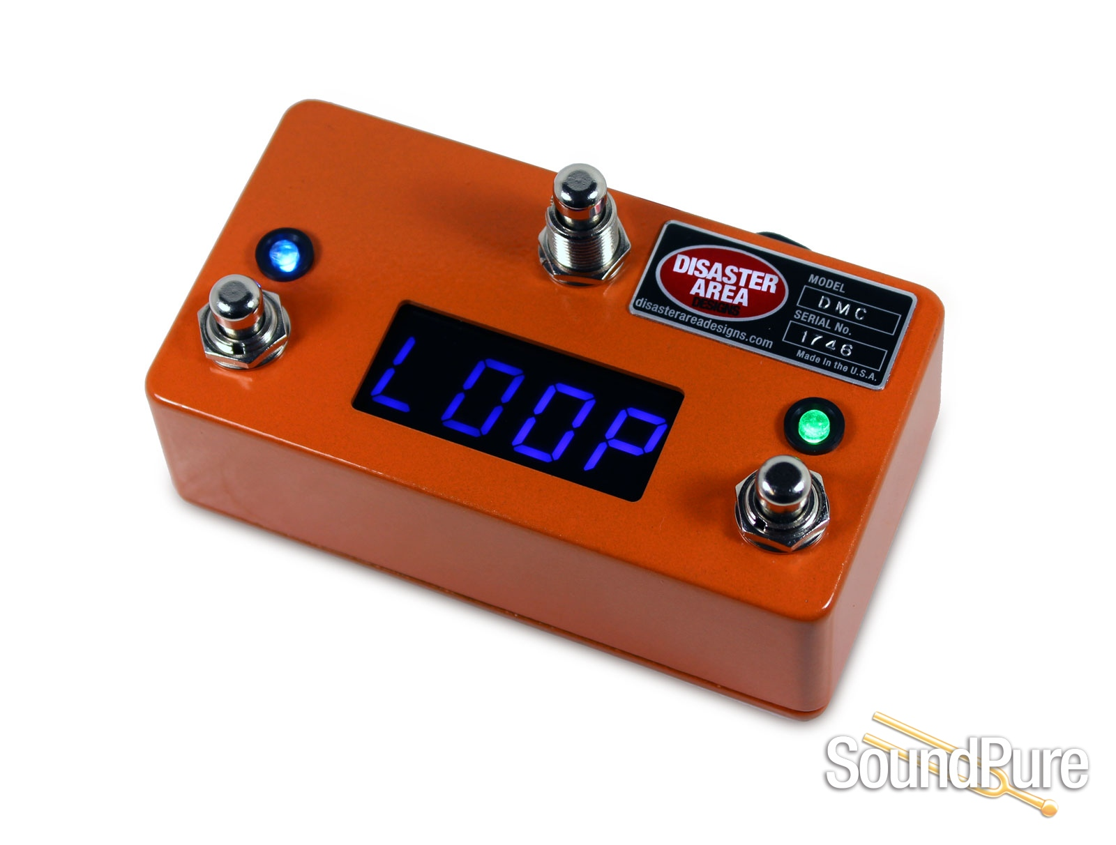 Disaster Area Designs DMC-3XL MIDI Controller- Camino Orange