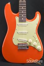 Suhr Classic Fiesta Orange Electric Guitar 24576