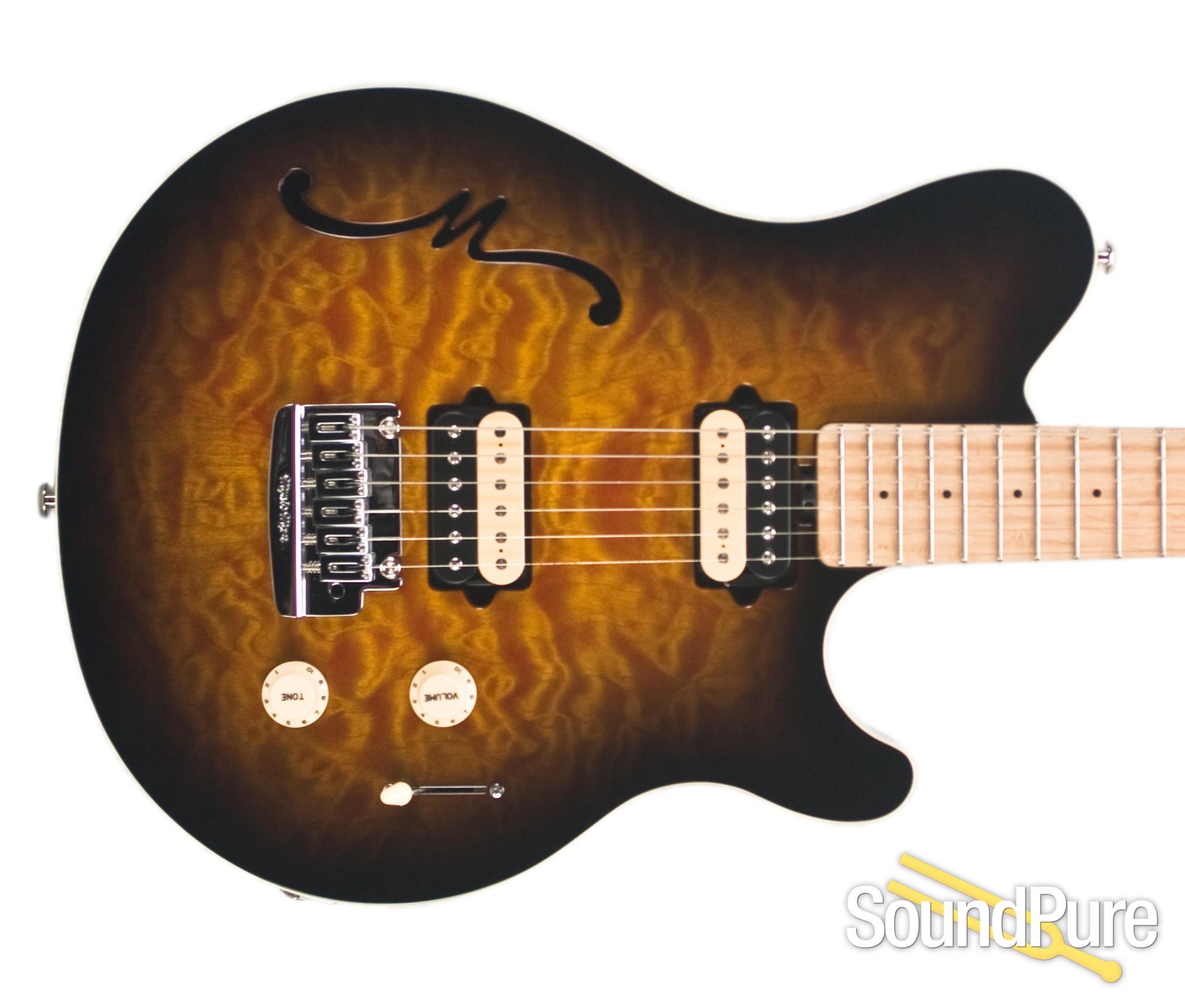 Ernie Ball Music Man Axis Super Sport Semi Hollow Guitar