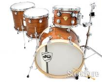 DW 4pc Classics Series Mahogany Drum Set-Natural Gloss