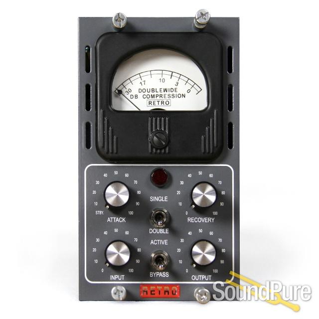 Retro Doublewide 500-Series Tube Compressor | Soundpure com