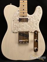 Tuttle Custom Classic T White Blonde Nitro Electric Guitar