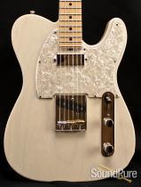 Tuttle Custom Classic T White Blonde Nitro Electric Guitar