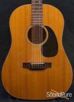Martin 1968 D-12-20 12-String Acoustic Guitar - Used